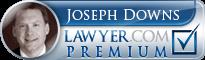 Joseph Downs  Lawyer Badge