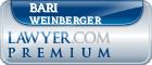 Bari Z. Weinberger  Lawyer Badge