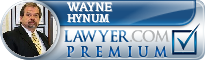 Wayne Hynum  Lawyer Badge