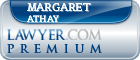 Margaret Ann Athay  Lawyer Badge