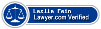 Leslie G Fein  Lawyer Badge