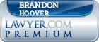 Brandon James Hoover  Lawyer Badge