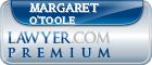 Margaret Lynne O'Toole  Lawyer Badge