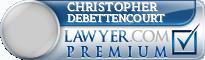 Christopher F Debettencourt  Lawyer Badge