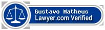 Gustavo E I Matheus  Lawyer Badge