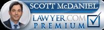 Scott Kendall McDaniel  Lawyer Badge