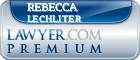 Rebecca Freeland Lechliter  Lawyer Badge