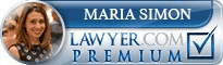 Maria Christina Simon  Lawyer Badge