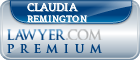Claudia Marie Remington  Lawyer Badge