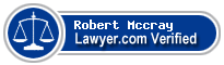 Robert David Mccray  Lawyer Badge