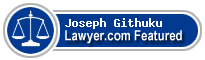 Joseph Kangata Githuku  Lawyer Badge