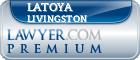 Latoya Alicia Livingston  Lawyer Badge