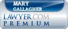 Mary Elizabeth Gallagher  Lawyer Badge