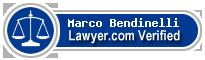 Marco F. Bendinelli  Lawyer Badge