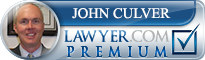 John Addison Culver  Lawyer Badge