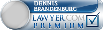 Dennis Lee Brandenburg  Lawyer Badge