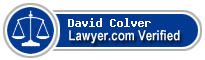 David Oliver Colver  Lawyer Badge