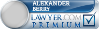 Alexander Berry  Lawyer Badge