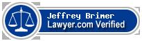 Jeffrey A Brimer  Lawyer Badge