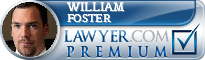 William Lawrence Foster  Lawyer Badge