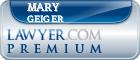 Mary Elizabeth Geiger  Lawyer Badge