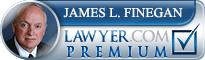 James L. Finegan  Lawyer Badge