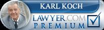 Karl John Koch  Lawyer Badge