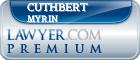 Cuthbert L. Myrin  Lawyer Badge