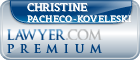 Christine Pacheco-Koveleski  Lawyer Badge