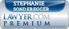 Stephanie Sonderegger  Lawyer Badge