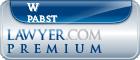 W Edward Pabst  Lawyer Badge