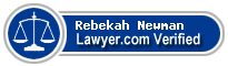 Rebekah Grace Newman  Lawyer Badge