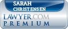 Sarah J Christensen  Lawyer Badge