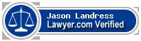 Jason Tyler Landress  Lawyer Badge