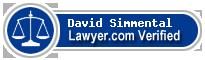 David Anthony Simmental  Lawyer Badge