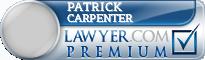 Patrick E Carpenter  Lawyer Badge