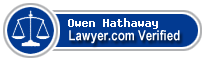 Owen Hathaway  Lawyer Badge