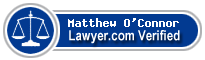 Matthew Joseph O'Connor  Lawyer Badge