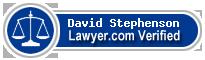 David J Stephenson  Lawyer Badge