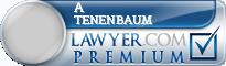 A Thomas Tenenbaum  Lawyer Badge