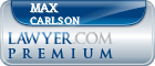 Max Eldon Carlson  Lawyer Badge
