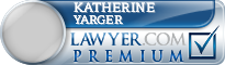 Katherine Crawford Yarger  Lawyer Badge