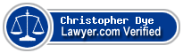 Christopher Dye  Lawyer Badge