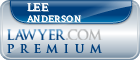 Lee David Anderson  Lawyer Badge