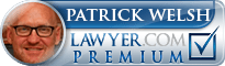 Patrick Francis Welsh  Lawyer Badge