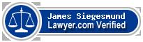 James Edward Siegesmund  Lawyer Badge