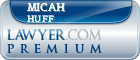 Micah H Huff  Lawyer Badge