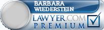 Barbara Wiederstein  Lawyer Badge