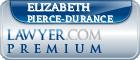 Elizabeth Pierce-Durance  Lawyer Badge