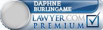Daphne Richards Burlingame  Lawyer Badge